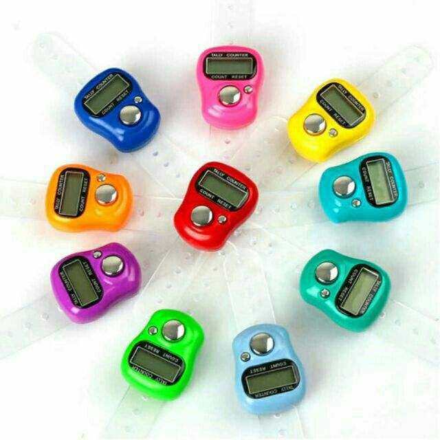 1pcs Tasbih Digital Counter (Random Colour)