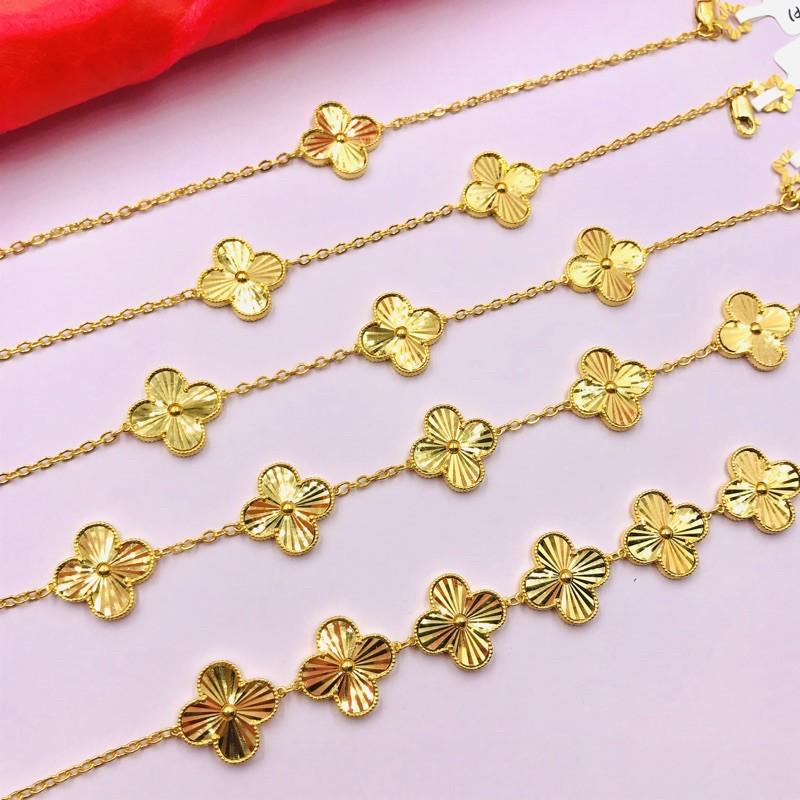 Gelang Emas VClovers ~ Shining Gold Series (Emas 916)
