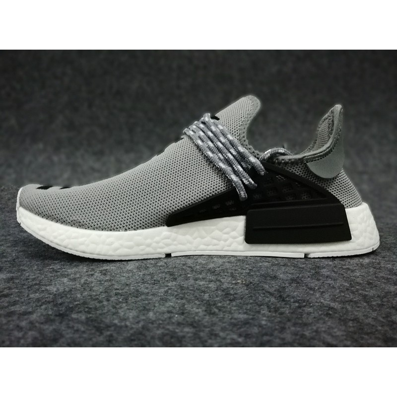 more photos 924cd f6d78 Original Adidas Human Race Nmd Running Shoes Men Women Boost Sport Sneakers  Grey
