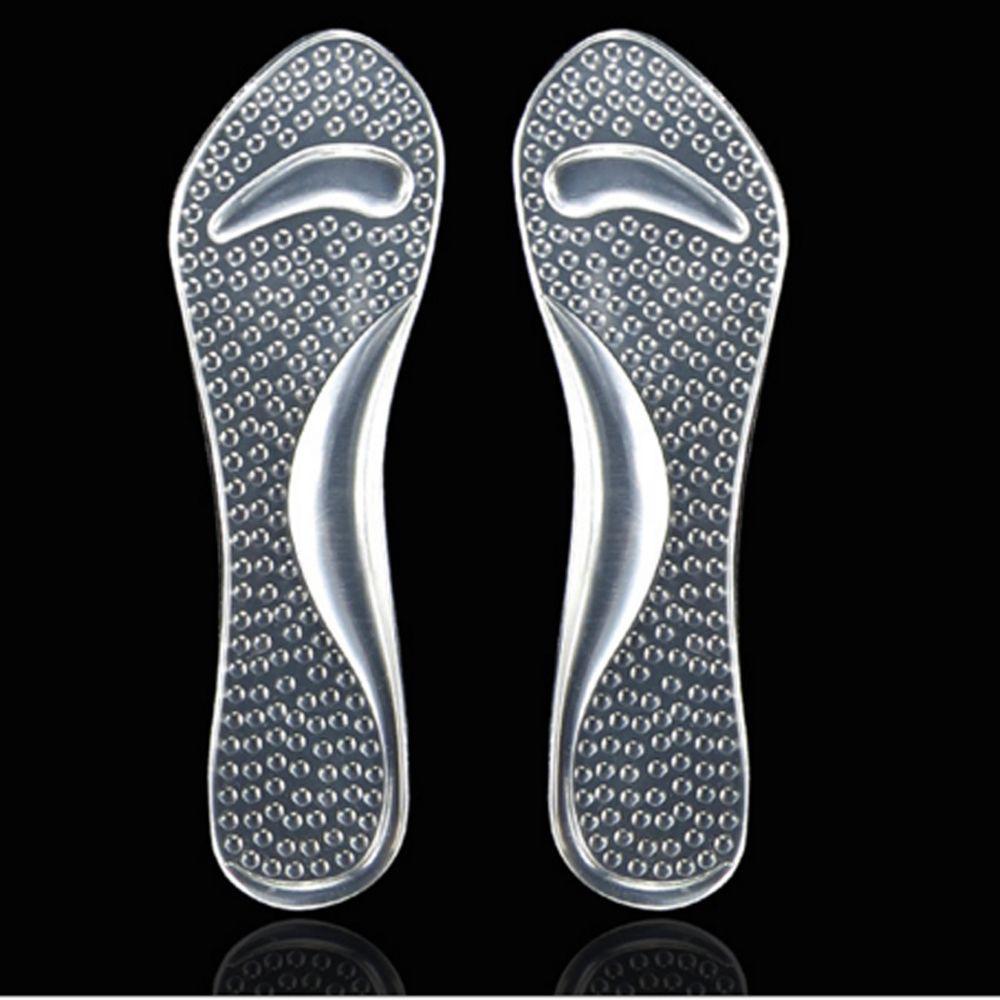 Feet Care Soft Heel Insert Shoe Cushion Silicone Gel Pad Insole ... fc5730443c93