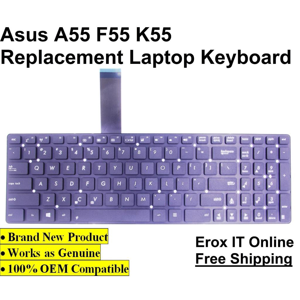 Replacement Laptop Keyboard for Asus A55VD Series /Asus A55 Laptop Keyboard