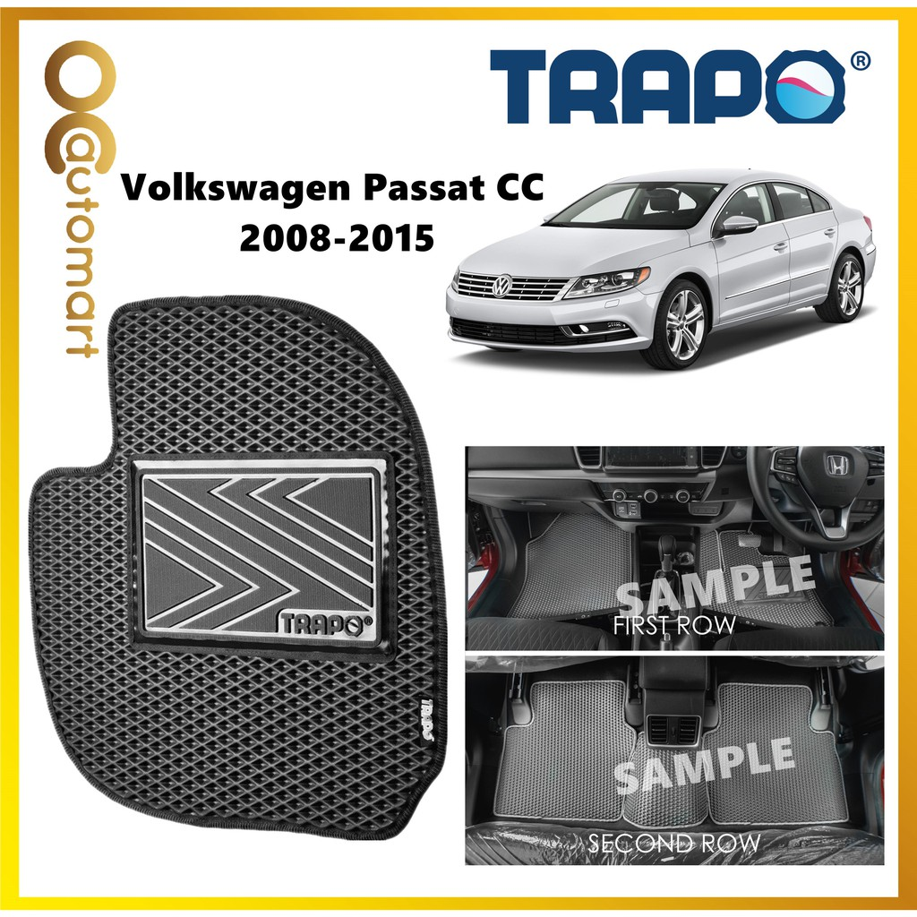 TRAPO Customize Car Floor Mat for Volkswagen Passat CC R-Line (2012-2015)