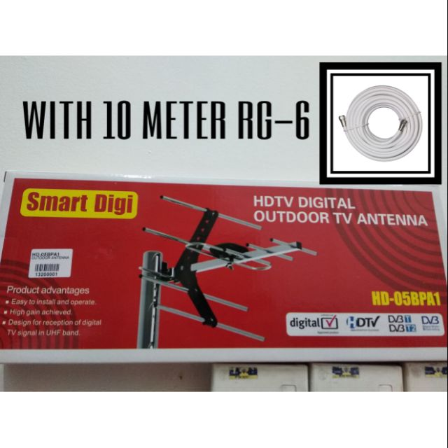 SMART DIGI (HD-05BPA1) + 10 METER CABLE