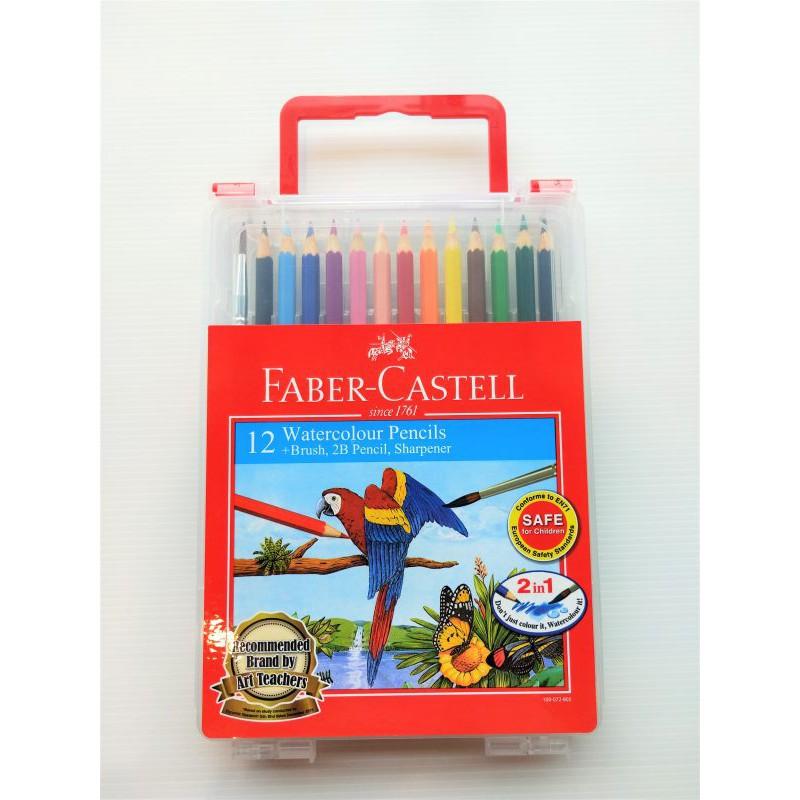 Faber-Castell Wonder Box Water Color Colour Pencil 12 Long - 114562