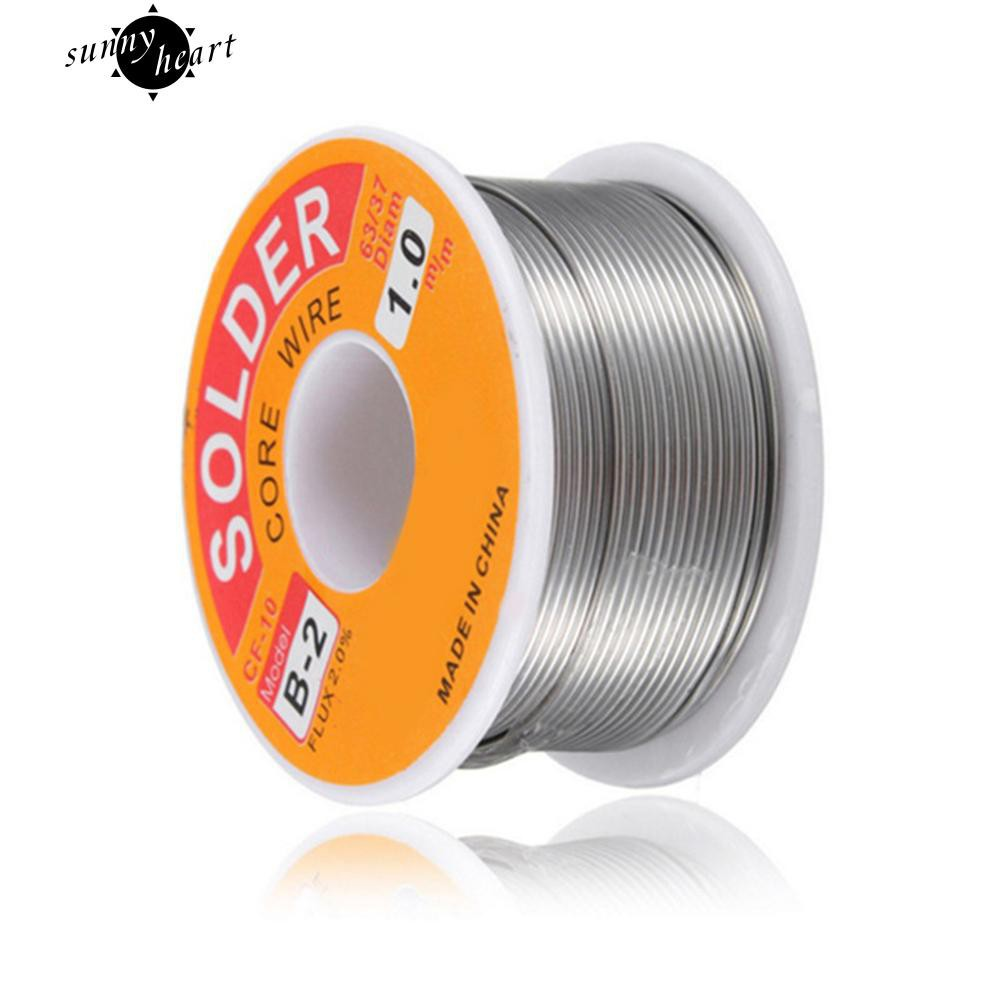 0e2650eaa6a 0.3mm 50g 60 40 Rosin Core Flux 1.2% Tin Lead Roll Soldering Irons Solder  Wire