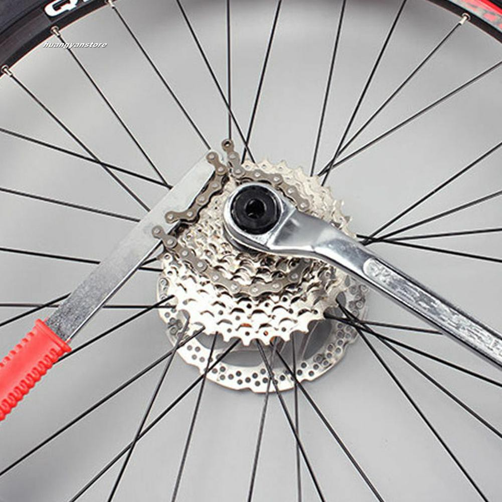 Bike Freewheel Chain Whip Sprocket Lockring Remover Cassette Cyclebike Tool
