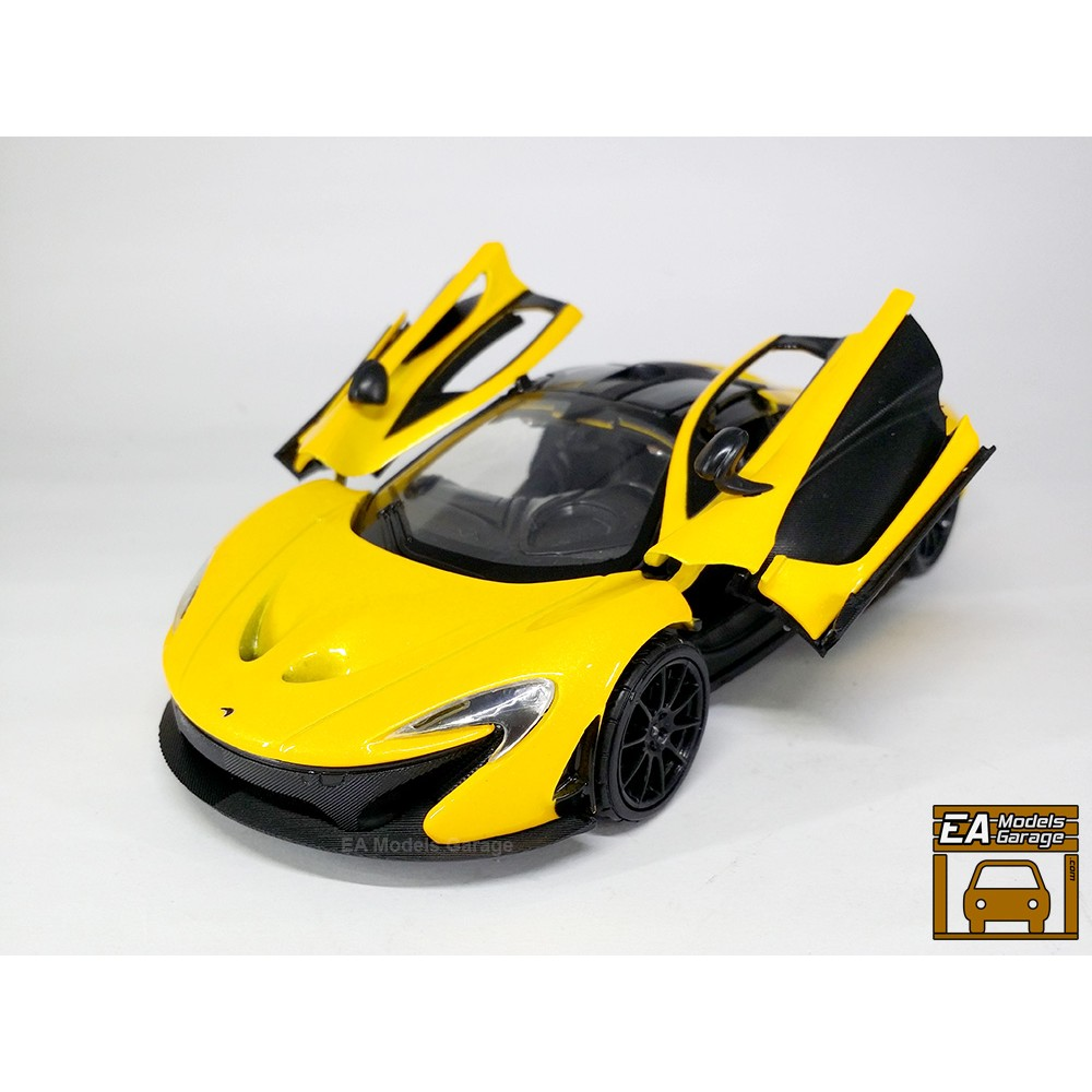 MotorMAX 1:24 McLaren SENNA Diecast Alloy Car Model Collection Men Gift Display