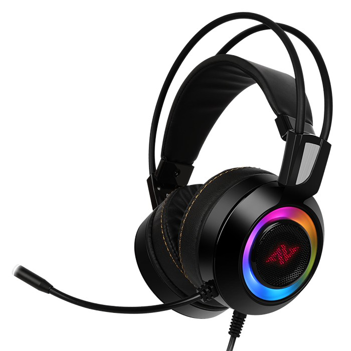 ABKONCORE CH60 VIVID Vibration REAL CH7.1 RGB Gaming Headset