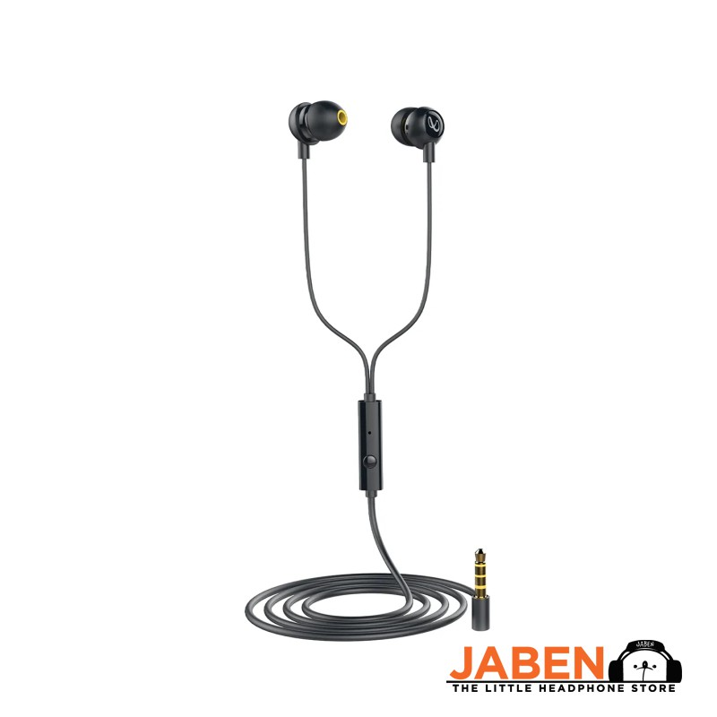 Infinity WYND 220 by HARMAN Tangle Free Flat Cable Deep Bass Wired In-Ear Earphones [Jaben]