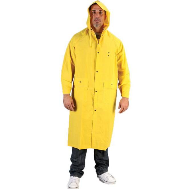 Heavy Duty PVC Waterproof Raincoat Extra Thick
