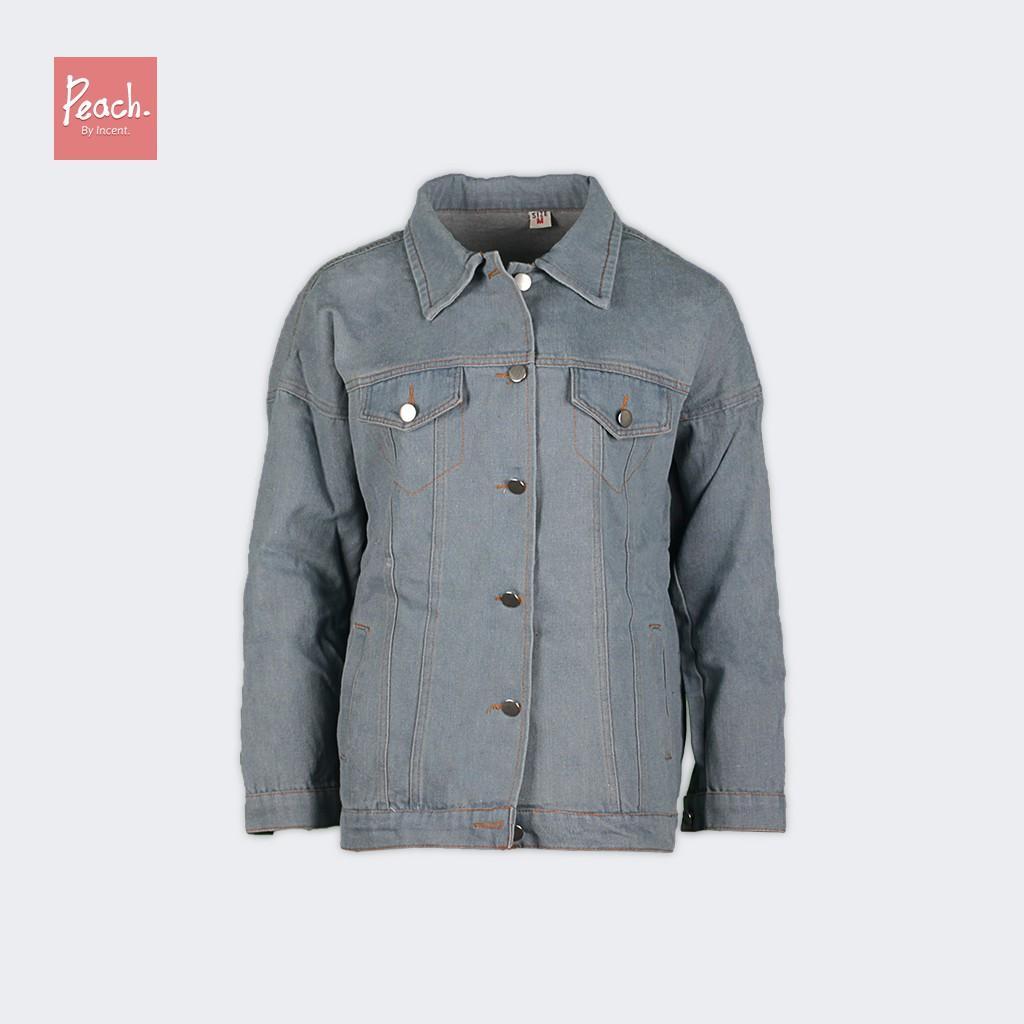 95bdf4ceecc Fashion Retro Korean Women Casual Oversize Denim Jacket Boyfriend Style Coat  | Shopee Malaysia