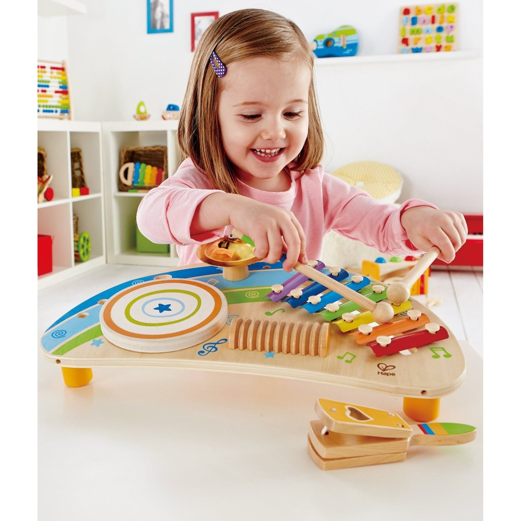 Mighty Mini Band Wooden Percussion Instrument