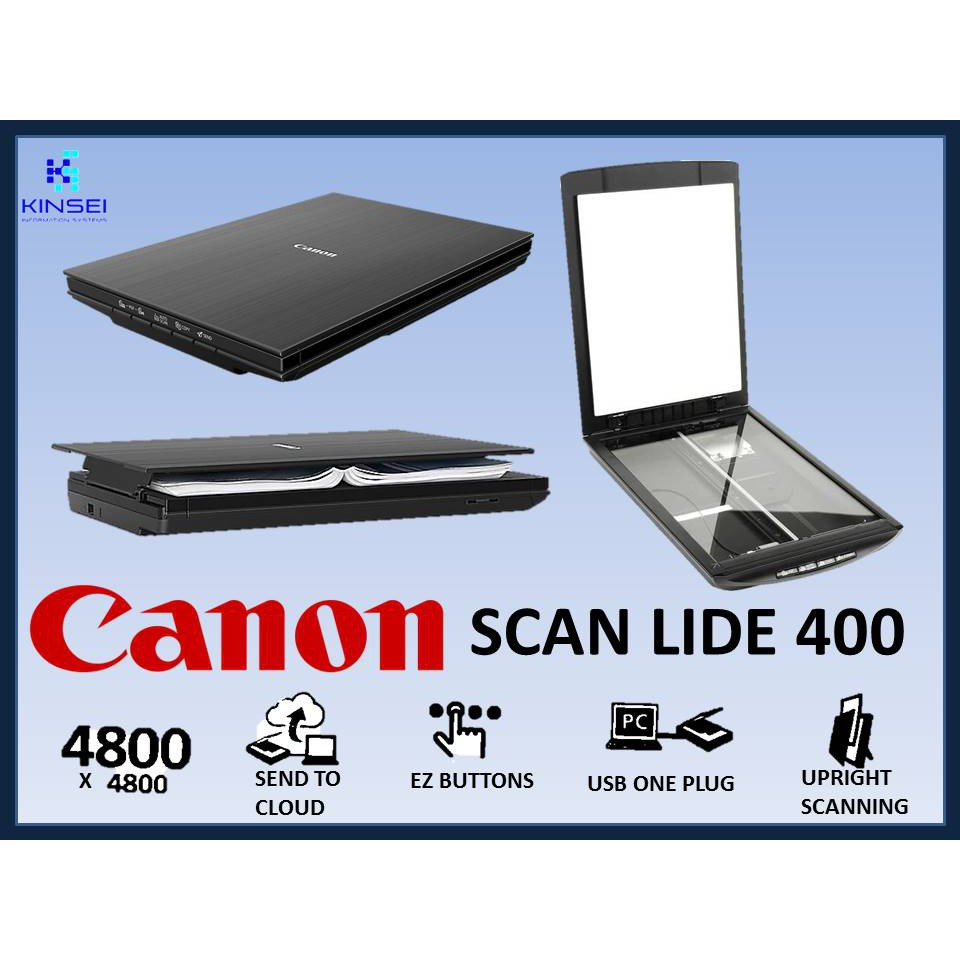 Canon Scanner LiDE 400 Flatbed scanner