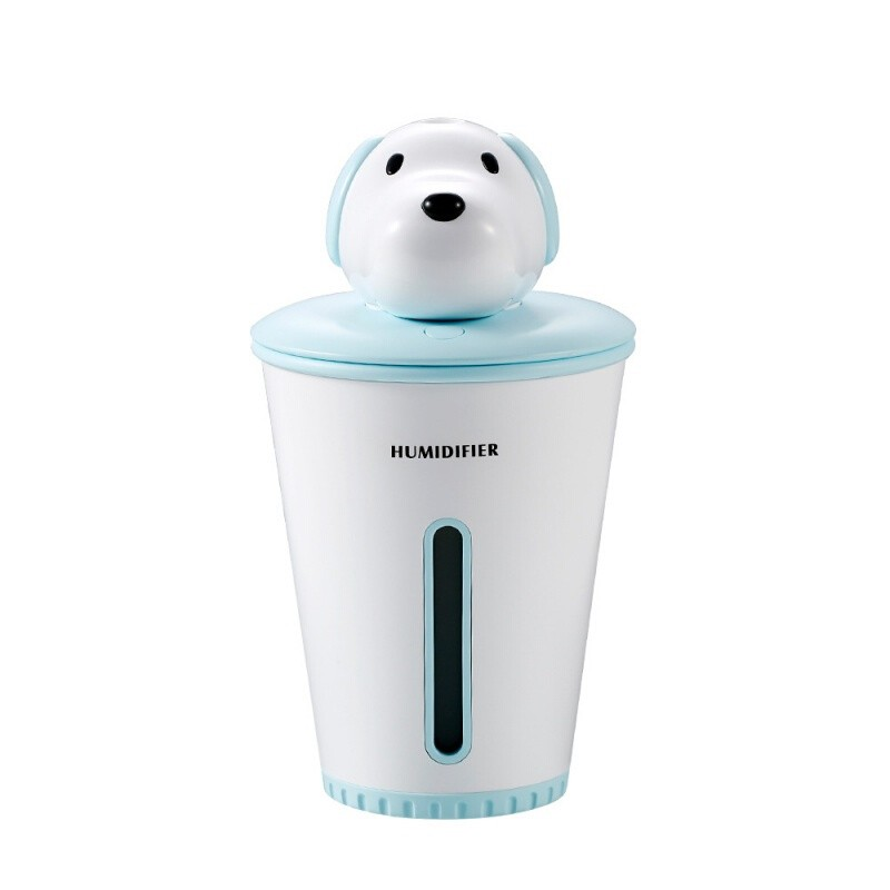 [Ready Stock] Small Wang Humidifier Colorful Lighting Desktop Mini USB Adorable Pet Humidifier