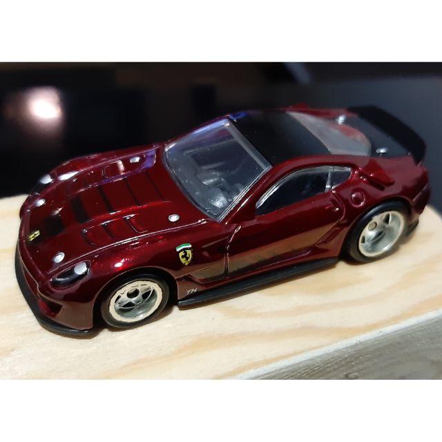 Mint Hot Wheels Ferrari 599xx Super Treasure Hunt Th Vhtf Shopee Malaysia