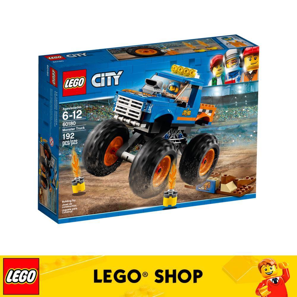 Vehicles City 60180 Monster Lego Great Truck qjzGVSLUMp