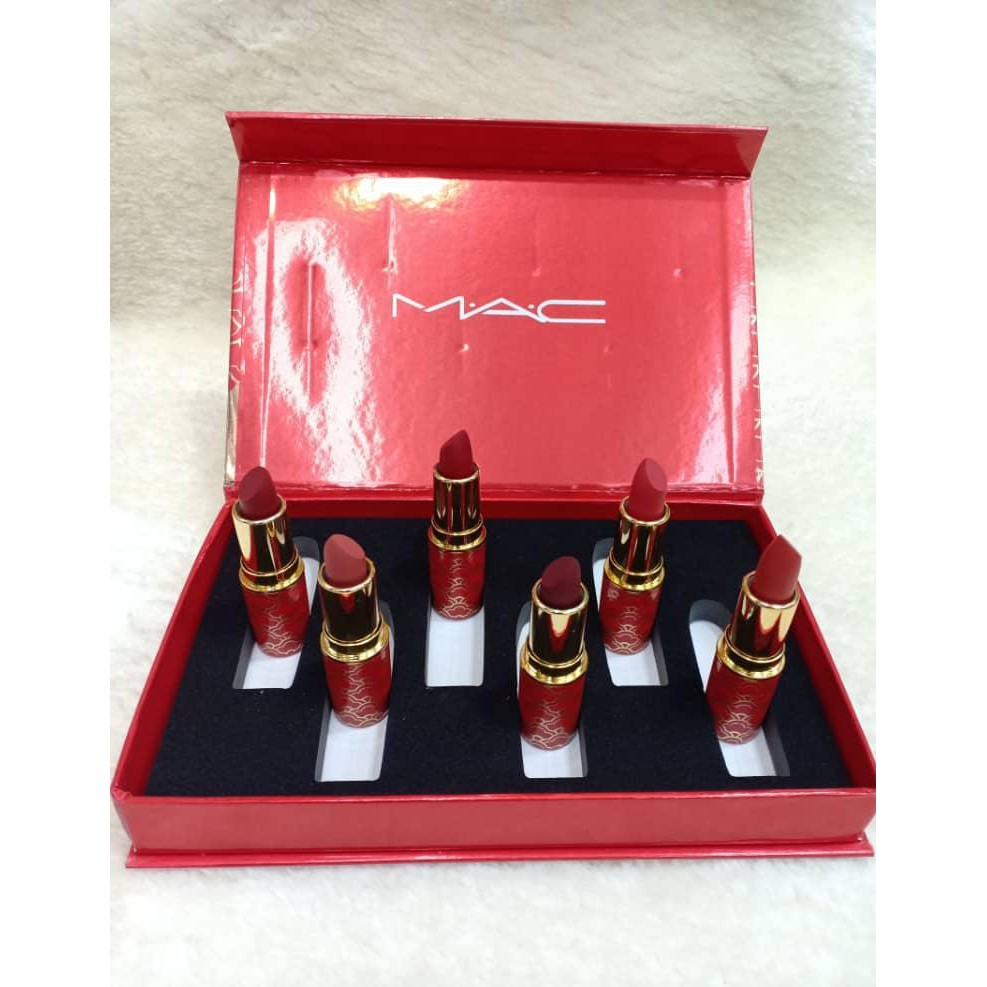 MAC Lipstick 6 in 1