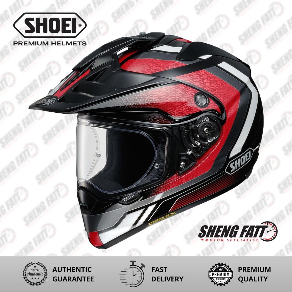 Shoei Hornet ADV Sovereign TC-1 Full Face Helmet for Motorcyclist Premium Helmet XL Size
