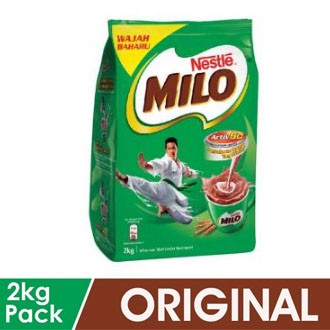 MILO Activ-Go Chocolate Malt Powder 2kg EXP 30 DEC 2021