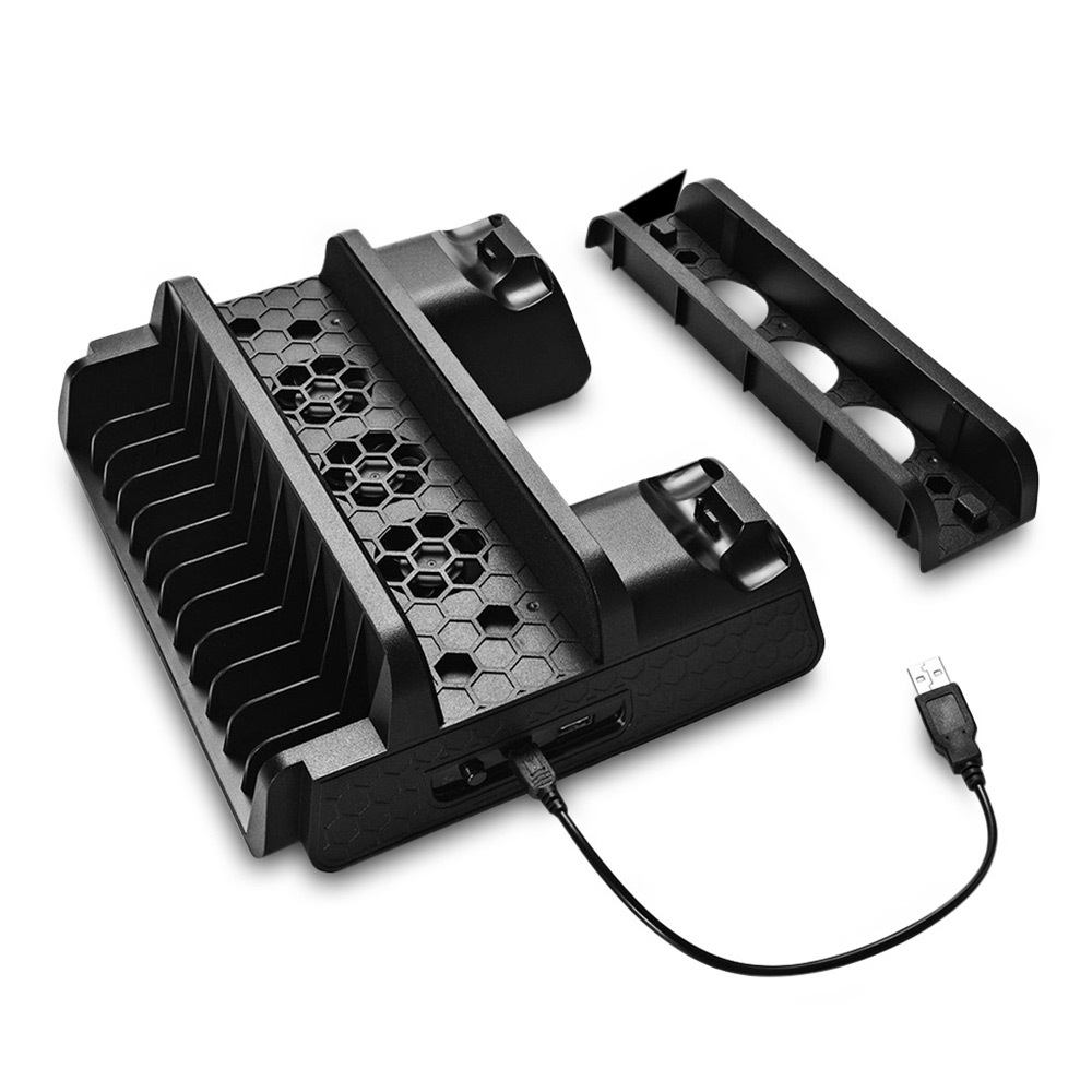 Multi-function dock for PS4/PS4 Slim/PS4 Pro
