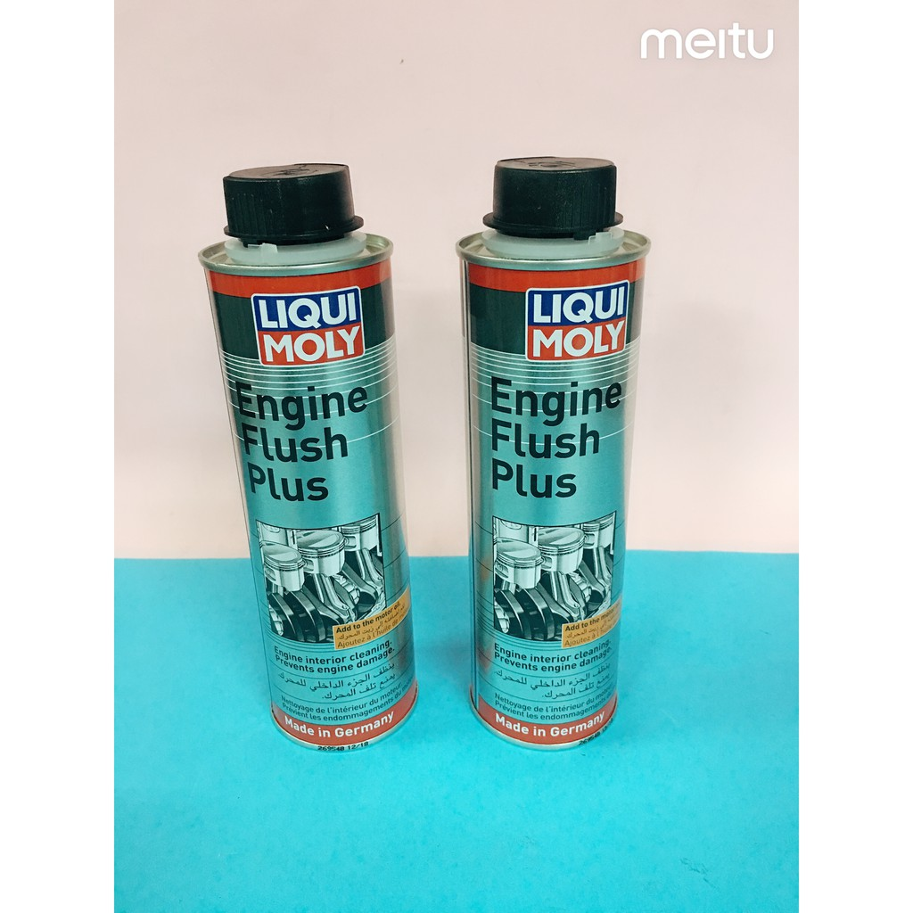 LIQUI MOLY ENGINE FLUSH PLUS 300ML (100% ORIGINAL)