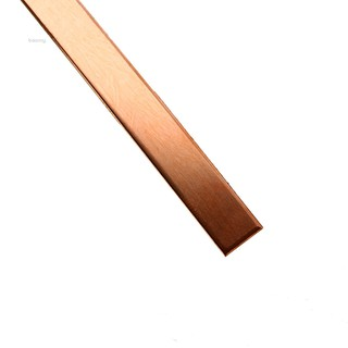 99.6/% T2 Purple Copper Cu Flat Bar Plate 3mm x 15mm x 250mm Metal Strip B 1M2 1X