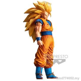 Banpresto GRANDISTA NERO Dragon Ball Z Super Saiyan SS3 Goku Gokou