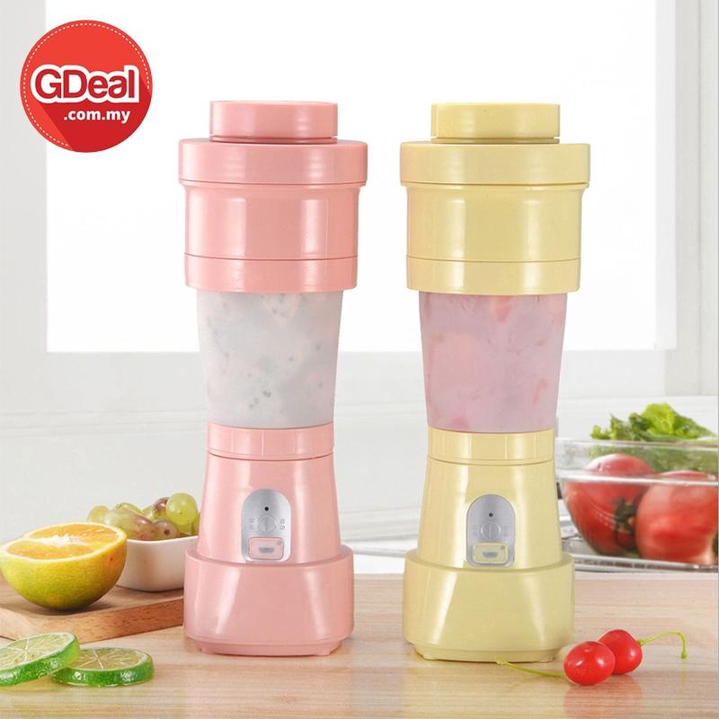 GDeal Fruit Juice Folding Mixer Smoothies Mixing Machine Rechargeable Portable Juicer