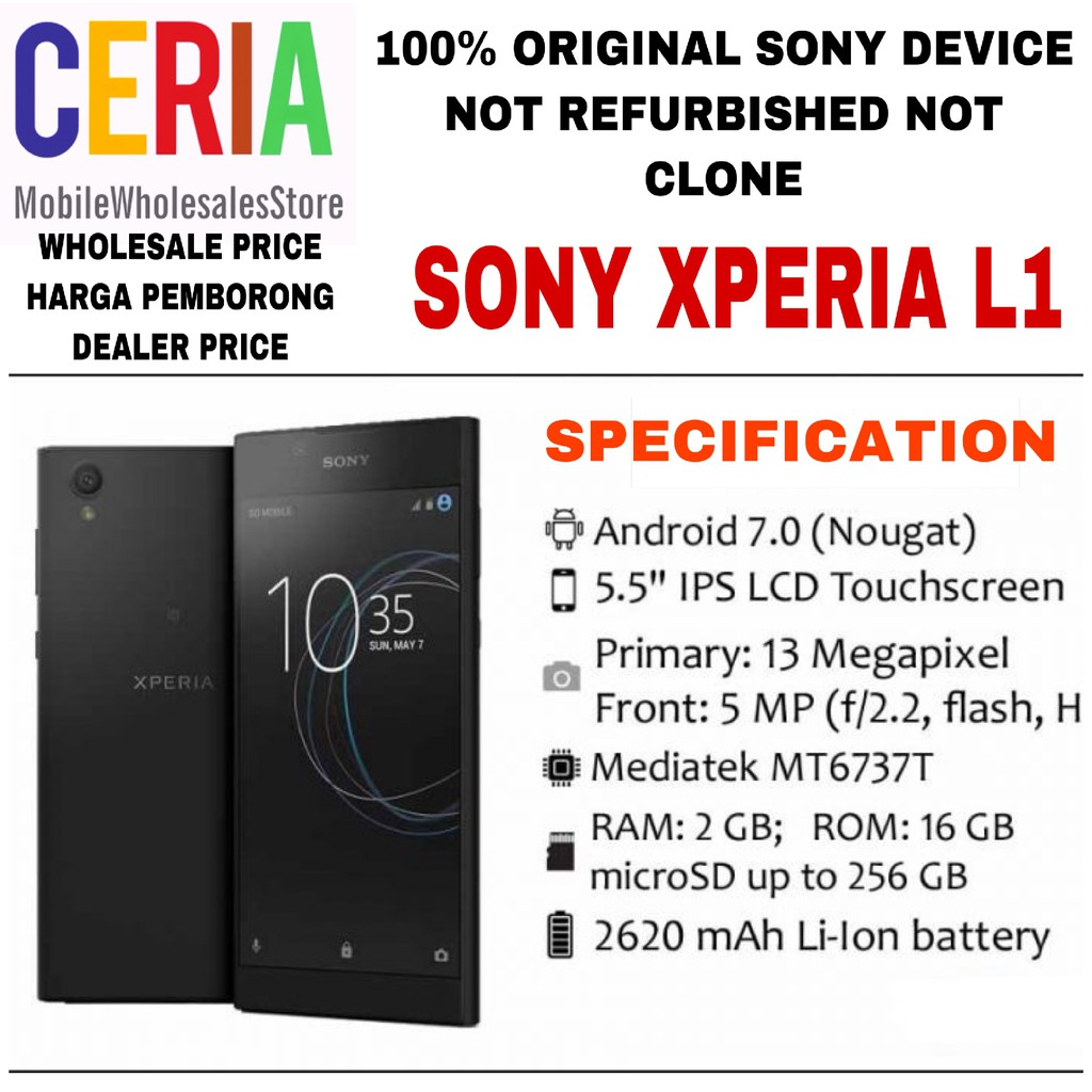 Sony Xperia Z3 Compact D5803 Original Lcd Touch Screen Replacement