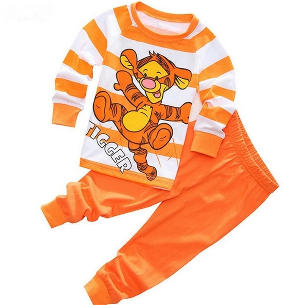 a96eb74bf ProductImage. ProductImage. Set Clothing Tiger Boy Pajamas Kid's Baby Pj's Pyjamas  Nightwear