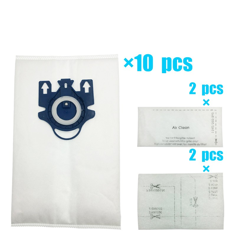 20 x MIELE Vacuum Hoover Bags GN C1 C2 C3 Complete Classic Active HEPA Filter