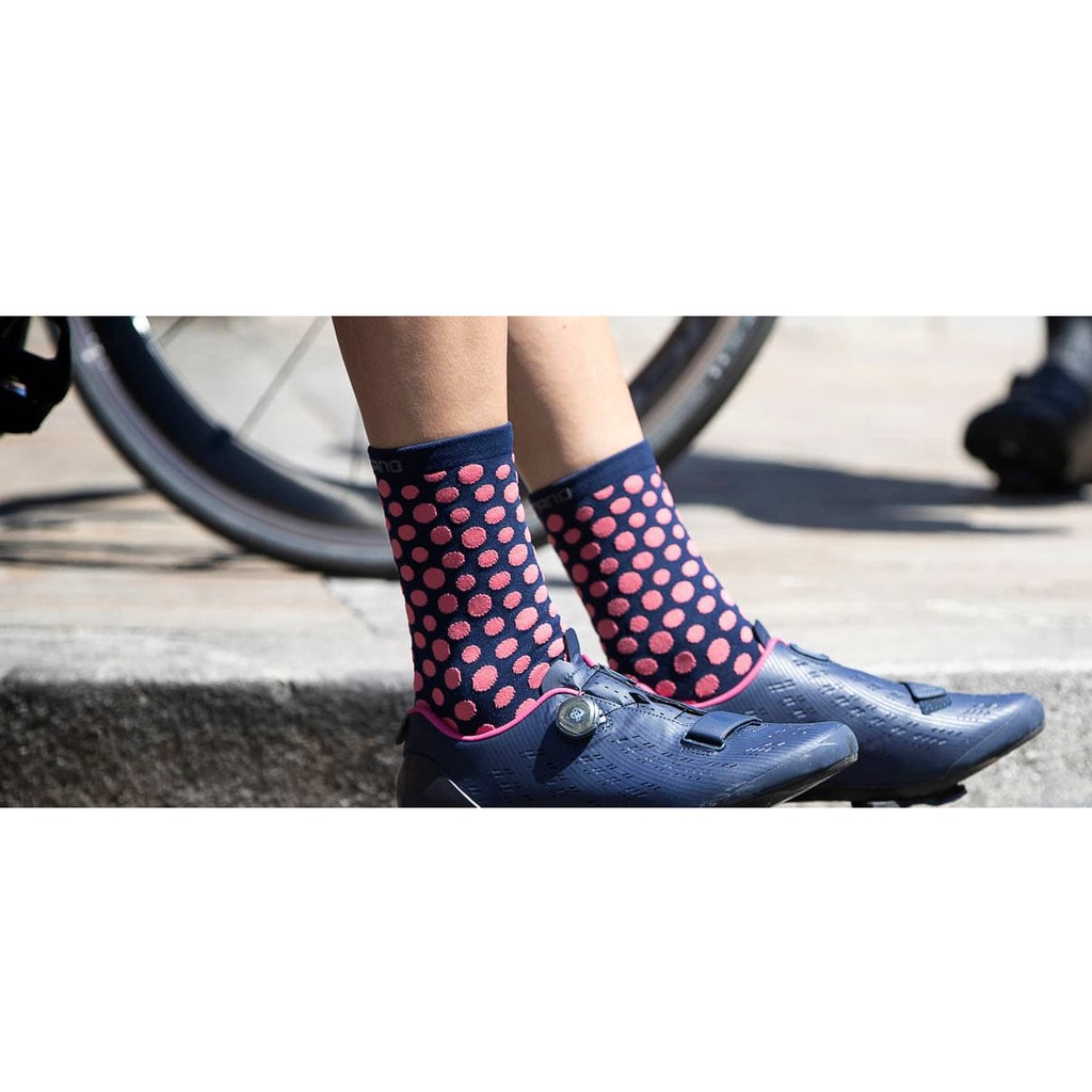 Supacaz SupaSox STRAIGHT UP Tall Cycling Socks NEON BLUE One Pair