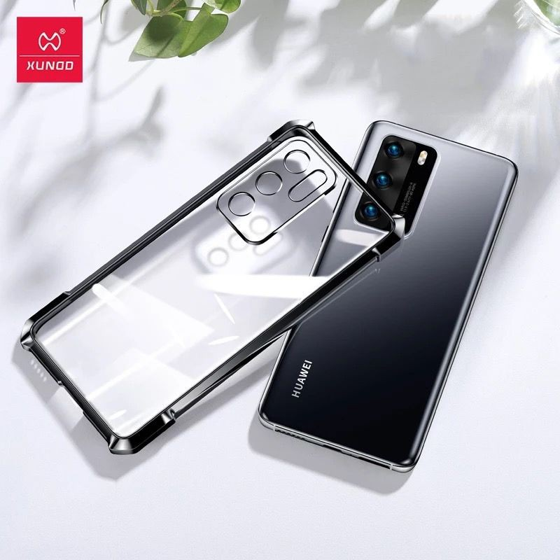 Xundd Case For Huawei P30 Pro P40 P40 Pro Case Shockproof Transparent Plating Airbags Cover P30 P40 Pro Plus Soft Case