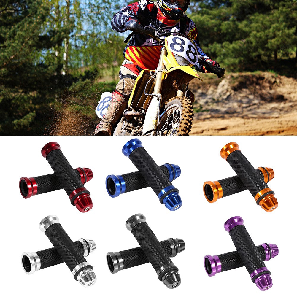 CHOICE OF 4 X COLOURS MOTOCROSS 22MM 7//8″ HANDLEBAR GRIPS