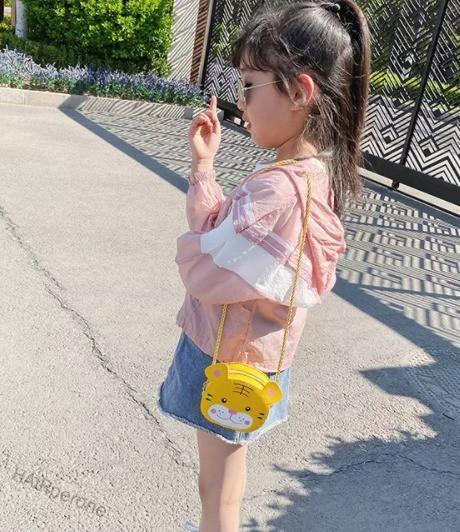 HAIRperone Cartoon children's bag female mini messenger bag kids fashion cute