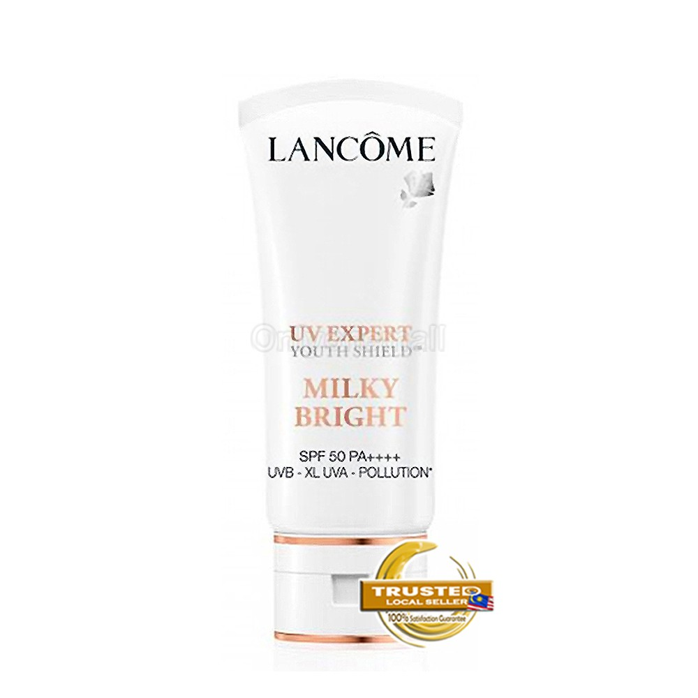 Lancome UV EXPERT MILKY BRIGHT SPF 50 PA ++++ 30ml (With Free Gift)