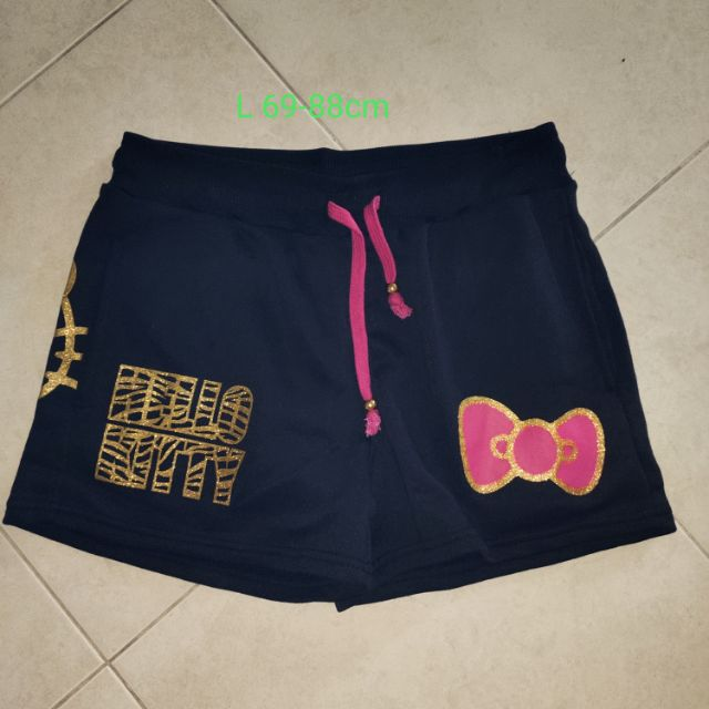 🆕💯👖👖hello kitty short pant ~black (fit to xl)