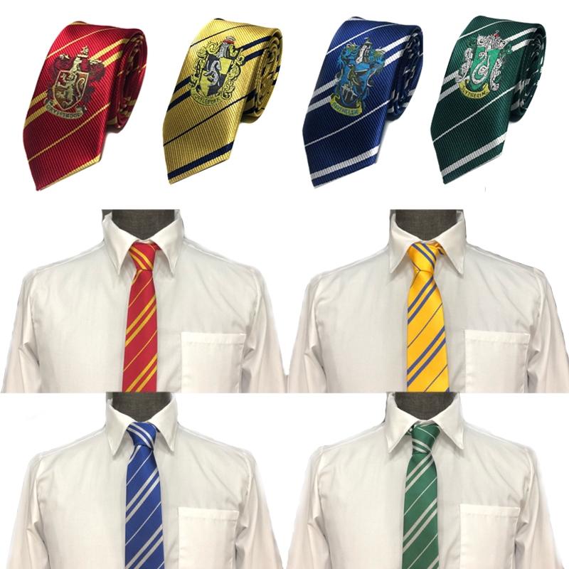 0Men Classic Silk Jacquard Woven Suits Neck Tie Harry Potter Costume Accessory W
