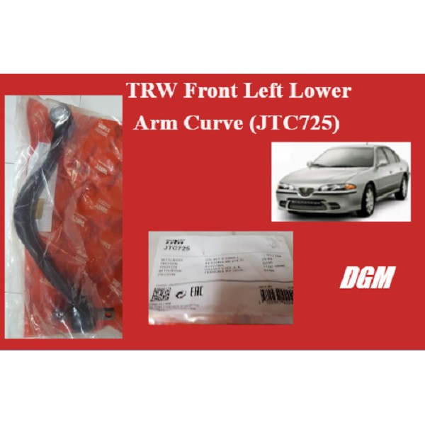 TRW Front Left Lower Arm Curve (JTC725) for Perdana 2.0/V6