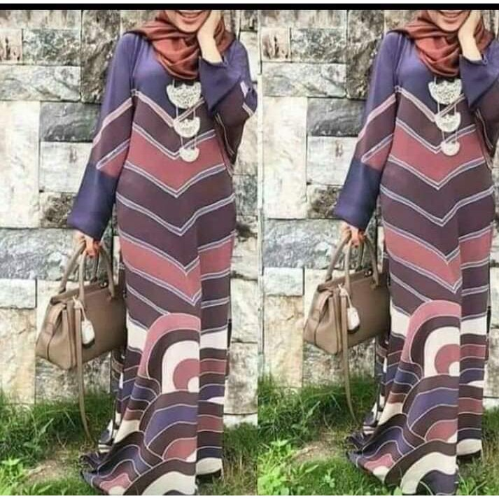 Mini Kurung/jubah/kaftan Batik Cotton
