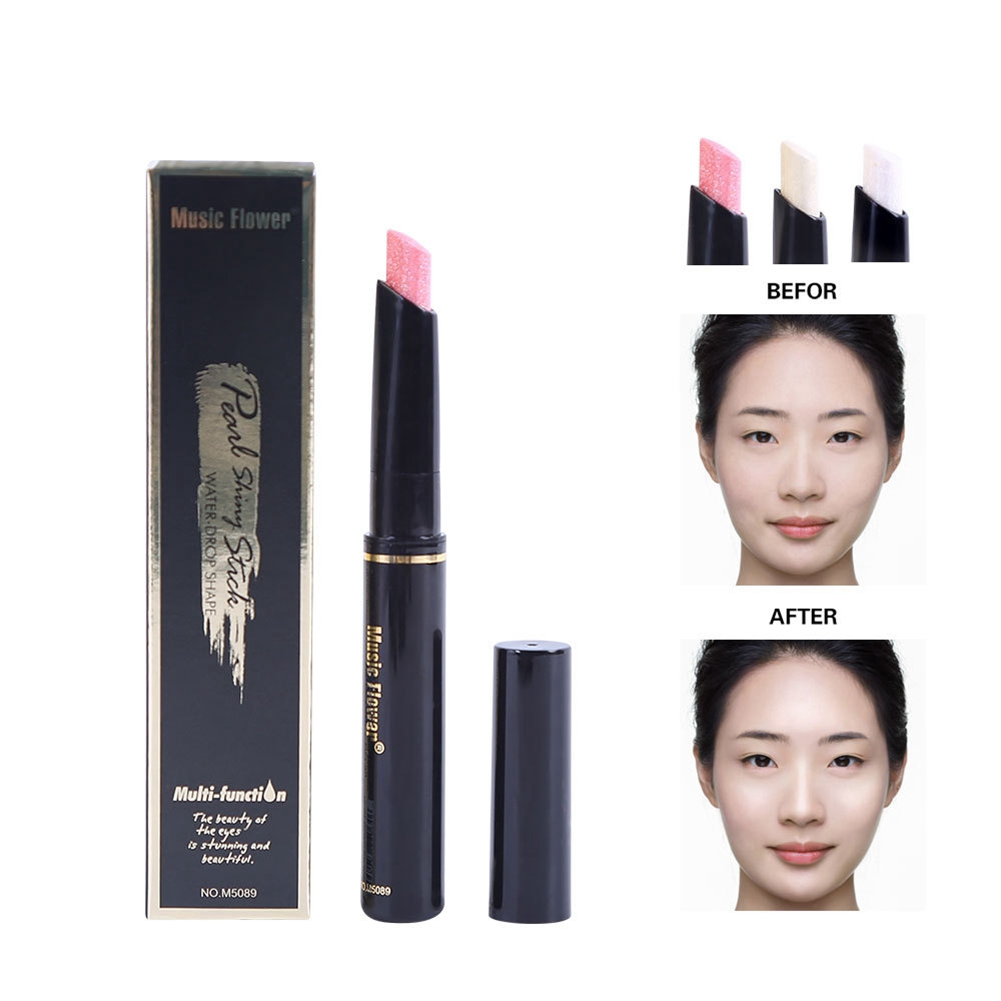 Face Contour Highlighting Stick Glitter Makeup Cosmetic