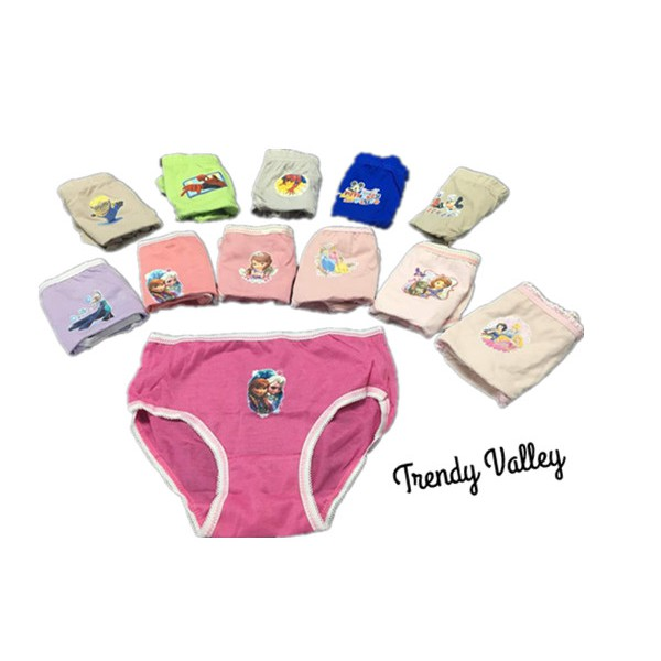 6226f52fdba3d Trendyvalley 6 pcs Cotton Cartoon Panties for Kids