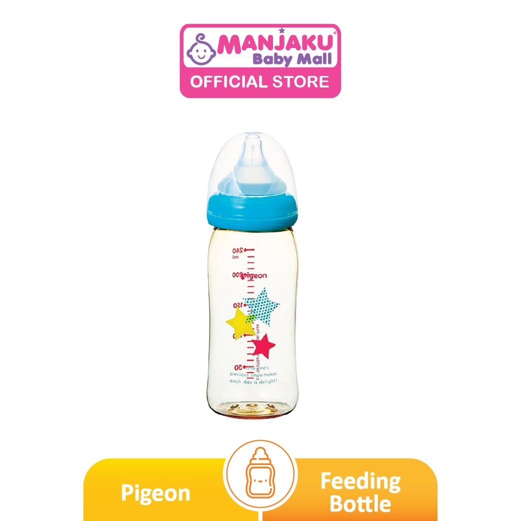 Pigeon SofTouch™ Wide Neck PPSU Nursing Bottle Star - 240ml