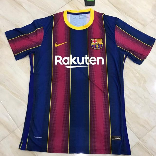 Fc Barcelona Home Kit 2020 21 Player Issue Shopee Malaysia