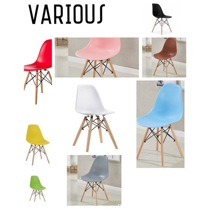 Astounding Ready Stock Various Eames White Chair Dining Chair Kerusi Makan Kerusi Spiritservingveterans Wood Chair Design Ideas Spiritservingveteransorg
