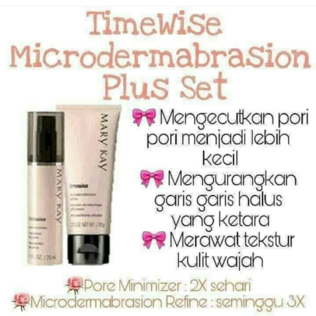 Mary Kay Timewise Microdermabrasion Plus Set Marykay Pore