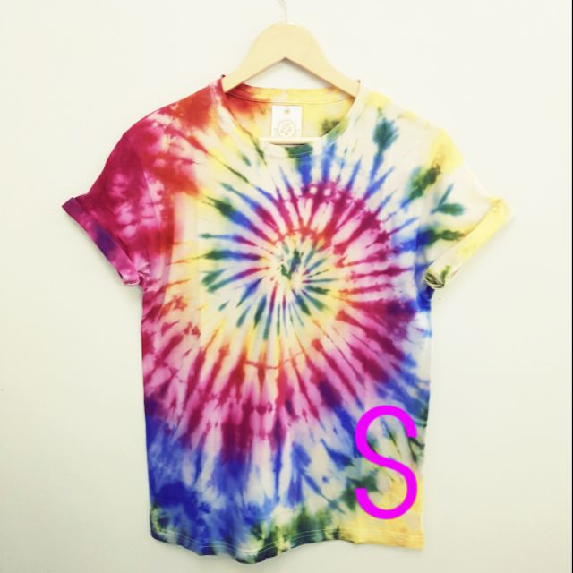 3be48668 ProductImage. ProductImage. 💙READY STOCK S Handmade Tie Dye T Shirt ...