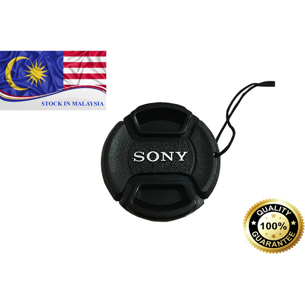 Sony Camera Front Lens Cap 55mm (Ready Stock In Malaysia)