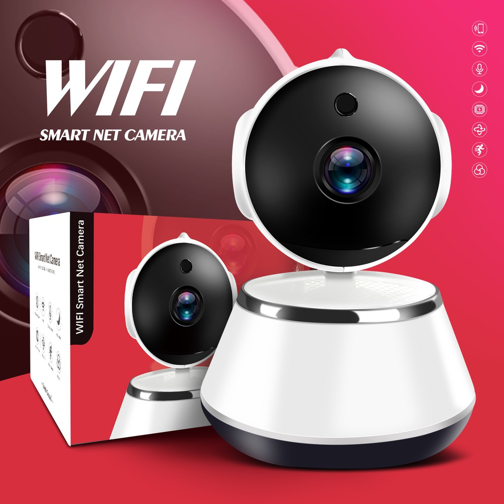 720P WiFi CCTV IP Camera Security Home Network Video Surveillance Night  Smart Indoor Baby Monitor Wireless Home Ind