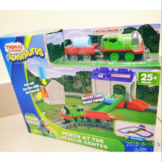 Genuine Mattel Thomas & friends Percy at the rescue center | Shopee Malaysia